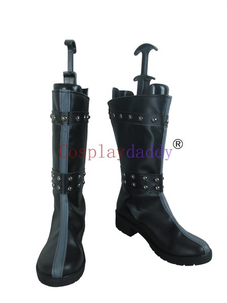 75a4d929538fa 2019 Uta No Prince Sama Syo Kurusu Black Long Cosplay Costume Boots Shoes  S008 From Lisacosplay, $60.58 | DHgate.Com