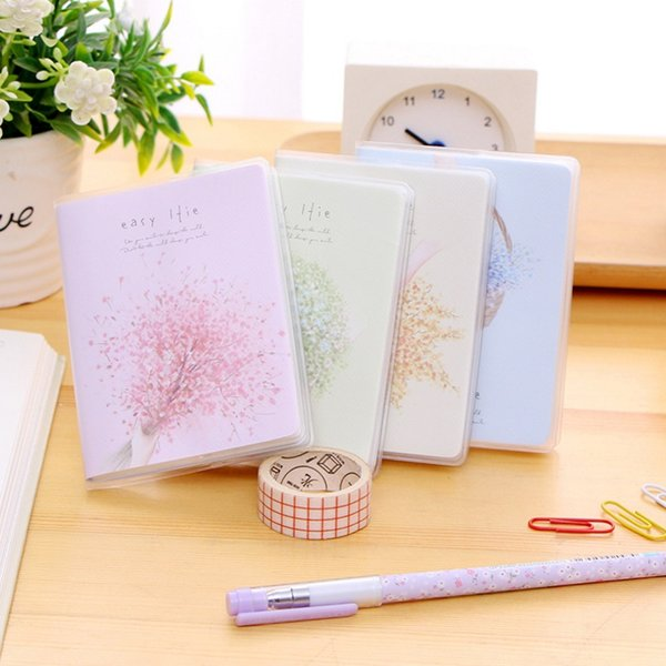 New Arrivals Cute Mini NotPocket Diary Book PVC Cover notebooks writing pads office & school supplies