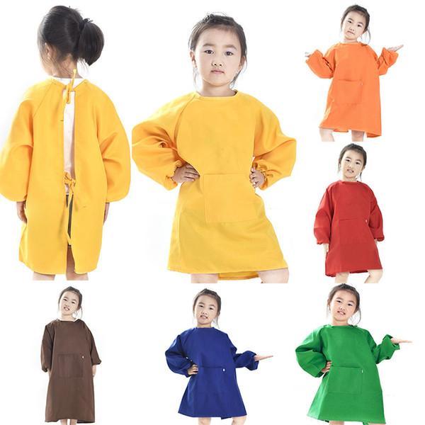 Satin Al Cocuk Onlukleri Onluk Cocuklar Boyama Giysi Su Gecirmez