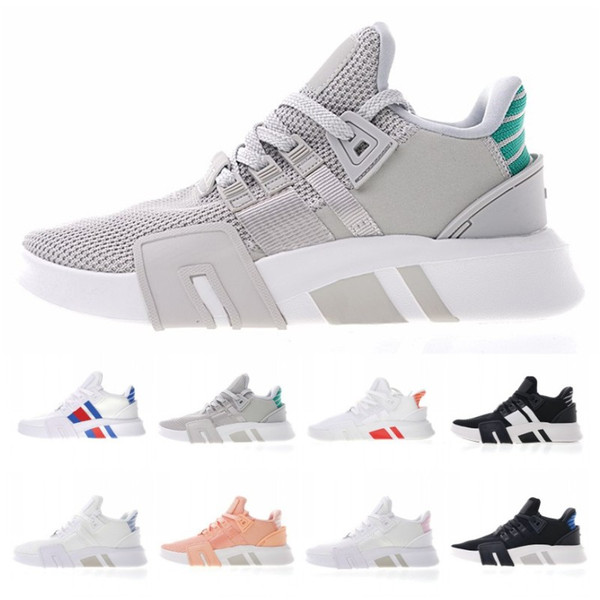 fresh styles 100% genuine new styles 2019 2018 Hot EQT Basketball ADV Support Primeknit Pink Black White  Seankers Running Shoes For Men And Women Sports Sneakers Size 36 45 From ...