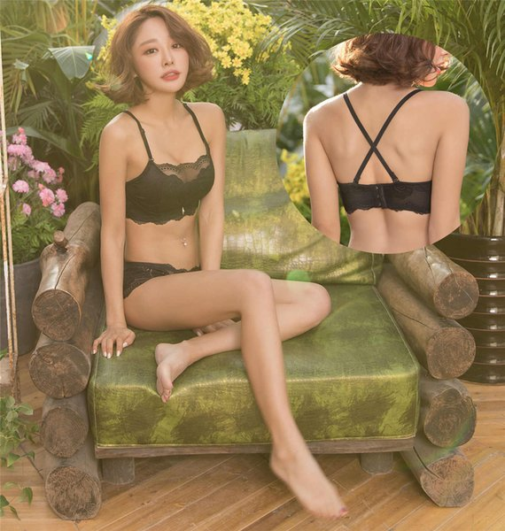 Explosion models one-piece seamless rimless bra bras Southeast Asia sexy gathered underwear no trace anti-going mesh concentrating on the fr