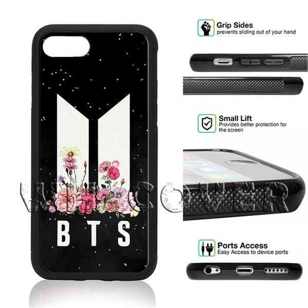 BTS Korean Kpop Band Finger Heart Bangtan BoyS South JungKook Jimin Jung Kook AAW Phone Case For iPhone Samsung iX 6/7/8 XR MAX Plus SE