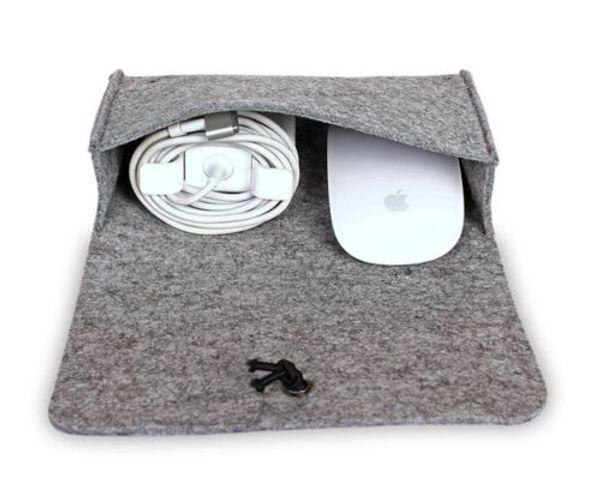 XMAS BUBM Functional Parts Storage Portable MacBook Power Adapter Mouse Bag