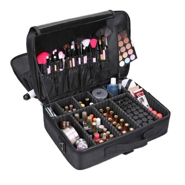 Women's Fashion Cosmetic Bag Cosmetic Box Empty Makeup Organizer Bolso Beauty Case Storage Boxes & Bins
