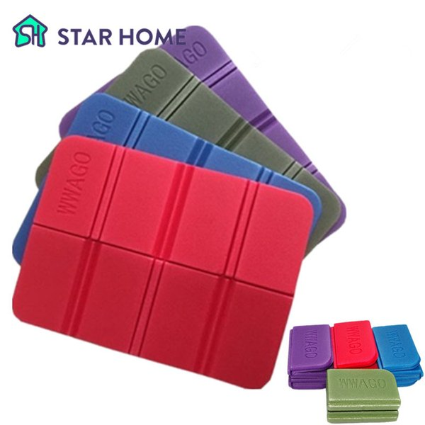 Outdoor Camping Seat Mat XPE Foam Folding Ultra-light Portable Outdoor Moistureproof Mat Pad Picnic Seat 38.5*27.5*0.8 cm