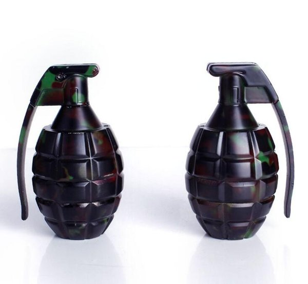 Grenade forme fumer broyeurs Camouflage métal cigarette Crusher Herbal main muller pour narguilé shisha Fumeurs Accessoires YW853