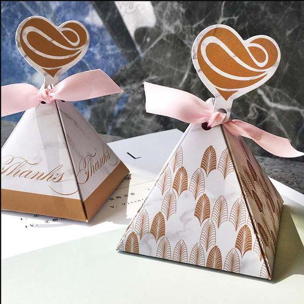 Acheter Marbre Figure Papier Bonbons Boites Bebe Douche Coffret Cadeau D Anniversaire De Mariage Boite De Faveur Boite Avec Ruban Et Etiquette De