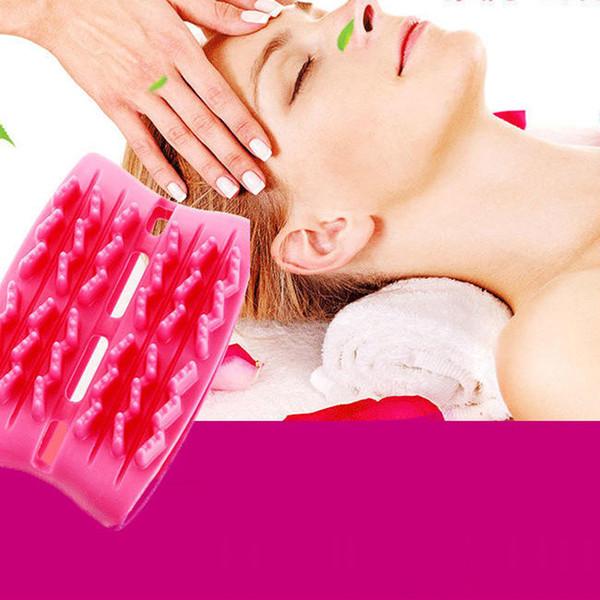 Massageador de Massagem Dupla Massagem Lateral Cabeça Lavagem Massagem Escova Meridian Escova Massageador SPA Uso Doméstico