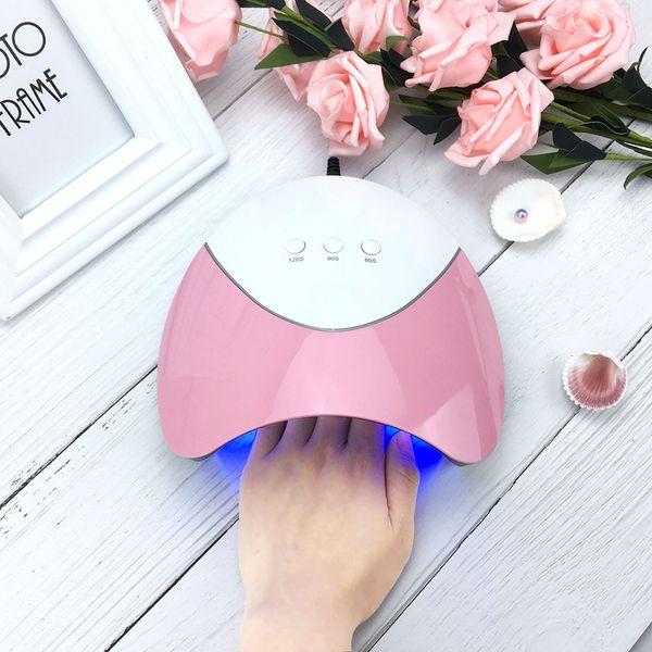 2018 36W Gel Nail Lamp SUN Z3 UV LED Nail Dryer 100V-240V Automatic Sensor Double Light Polish Curing Lamp Art Machine Tool