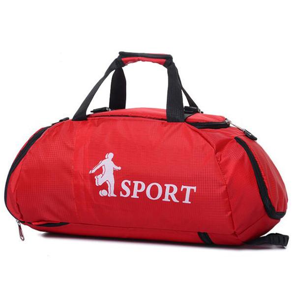 a368560bd6a5d Sıcak Profesyonel Büyük Spor Salonu Çanta Açık Su Geçirmez Sırt Çantası  Erkekler / Kadınlar Packable Duffle