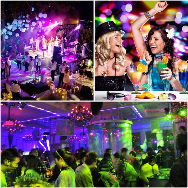 LED Disco Ball Light LED Disco Ball Light Portable Mini Remote Control RGB High Quality Magic Stage Light for Parties KTV Club Party