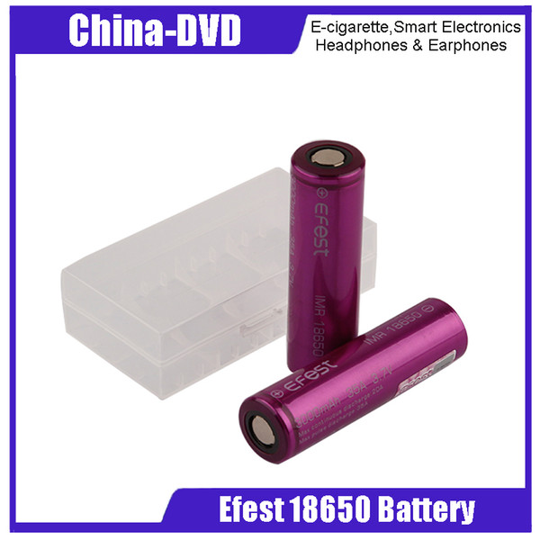 HOT 18650 battery 35A 3000mah capacity lithium battery Rechargeable Battery for E-cigarettes Mod kit and Flashlight