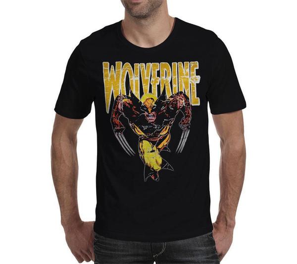 Wolverine Logan X Männer Rächer - Unisex T-Shirt schwarz T-Shirt Geschenk Frauen Männer