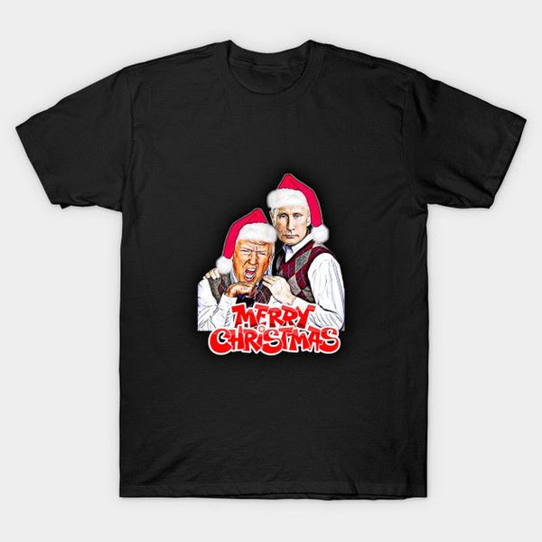 Christmas Trump Funny.Merry Christmas Putin And Donald Trump Funny Black T Shirt Tee Shirt Deals Online Shopping Tee Shirts From Chylytshirts37 11 48 Dhgate Com
