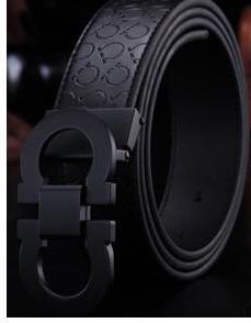 app2019 / 2018 top New Fashion Mens Business Belts Luxury Ceinture Automatic Buckle Genuine Leather Belts For Men Waist Belt Free Shipping