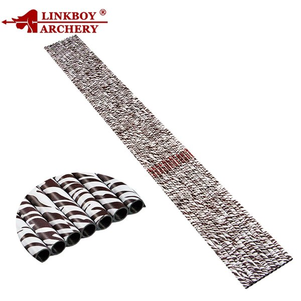 "Linkboy Archery Zebra Skin Shafts Pure Carbon 32"" SP400 Hunting Bow and Arrow Camping DIY Slingshot Archery"