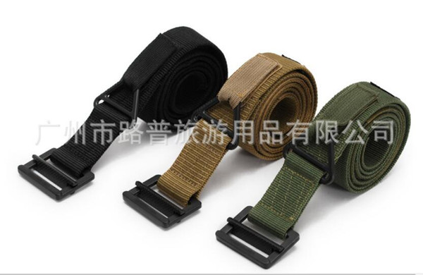 Factory direct inner weave belt tactical multi-function waistband outdoor unisex Belt Black Hawk special girdle free shipping