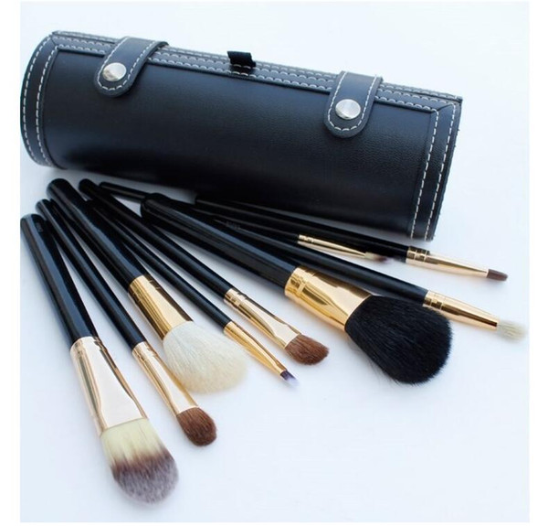 Bob Goat Hair Horse Hair 9pcs Makeup Brushes sets BLUSH Foundation CONTOUR Eyeshadow make up brushes With Logo DHL freeship