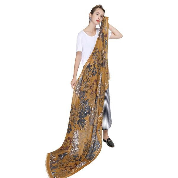 Cotton Scarf For Ladies Foulard Women Echarpe Femme Shawls Pashmina Wraps Thin Satin Fireworks Print New Long Scarves
