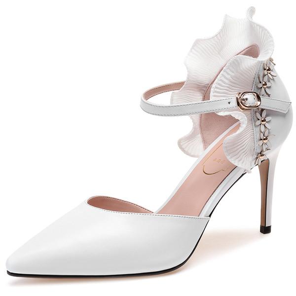 Großhandel Nylon Spitze Hochzeit Schuhe Spitz High Heels Nach Maß Frauen Prom Party Abendkleid Brautschuhe Von Dreampromdress, $85.3 Auf De.Dhgate.Com