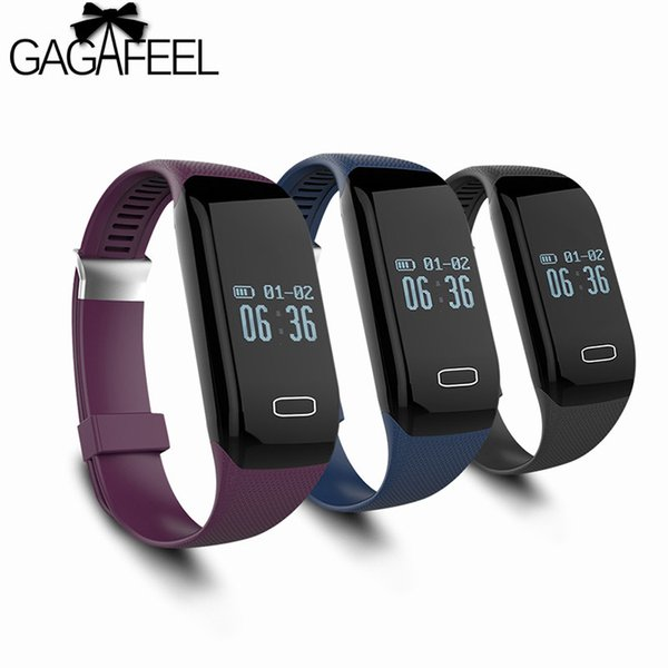 GAGAFEEL Sport Smart Wristband for iphone IOS Android Samsung Heart Rate Monitor Smart Watches for Women Men Clock Y18102310