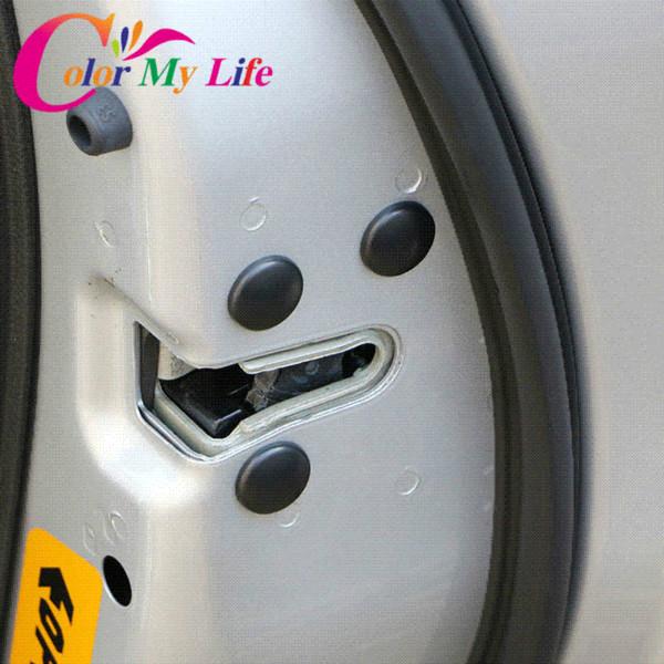 купить оптом цвет моя жизнь замок двери автомобиля винт защиты протектор наклейки крышки водонепроницаемые двери винты крышка для Jeep Compass