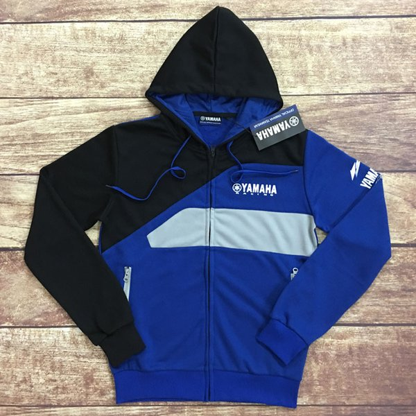 best selling Moto Club Group Clothes MOTO GP for Yamaha Motorcycle Riding Jackets Male Rossi racing Hoodies Zip jersey sweatshirts coat A