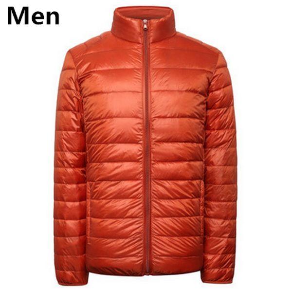 Мужчины оранжевый