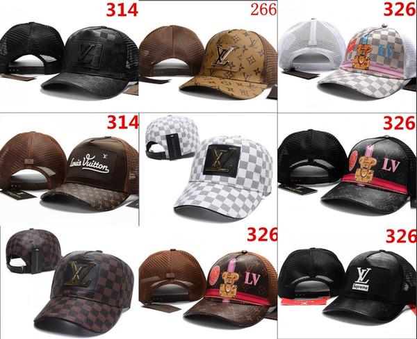 2018 meilleure qualité Snapback Casquettes New York Réglable Baseball Chapeaux Snapbacks Haute Qualité Sport hommes femmes casquette en cuir casquette Chapeau De Luxe