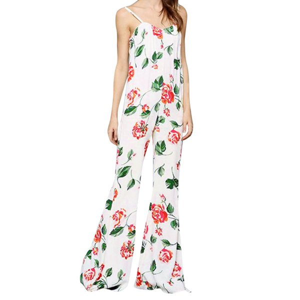 High Quality 2018 Hot Sale Crystal Women Printing Off Shoulder Sleeve Rompers Jumpsuit Playsuit Gift