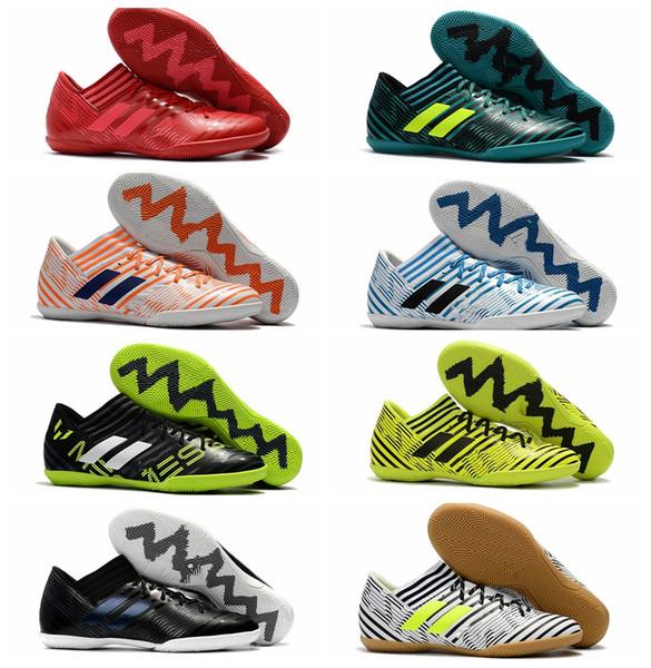 2018 uomini tacchetti da calcio Nemeziz Tango 17.3 IC scarpe da calcio indoor soft ground scarpe da calcio a buon mercato nemeziz 17 zapatos futbol mens