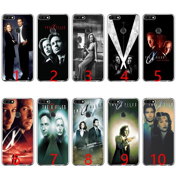 The X Files Soft Silicone Phone Case for Huawei P8 P9 Lite 2015 2016 2017 P10 20 Lite P Smart