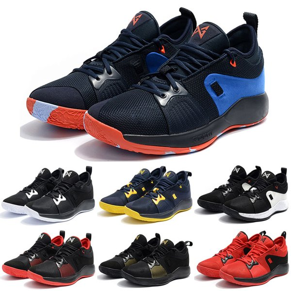 Top Quality PG 2 Home Craze shoes for sale Paul George 2018 Basketball Shoes Store Free Shipping US7-US12