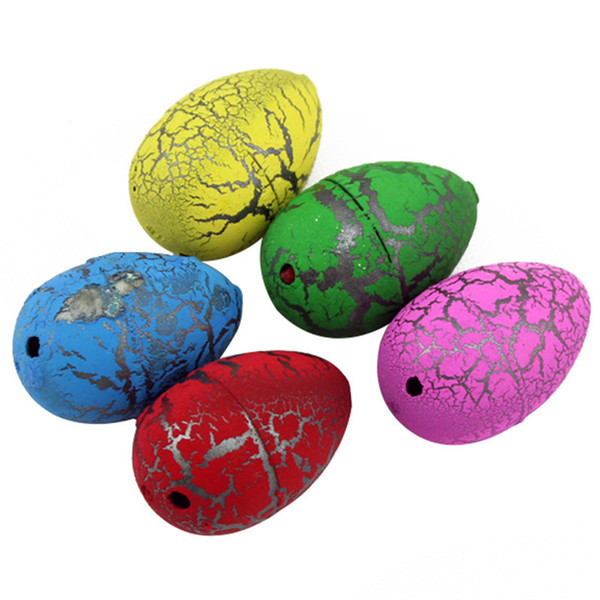 DHL 0360 Cute Magic Hatching Growing Dinosaur Eggs Novelty Gag Toys For Child Kids Educational Toys Gifts Add Water Growing Dinosaur