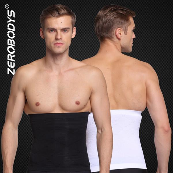 Zerobodys Uomo Vita Cincher Cintura Dimagrante Body Shaper Cintura addominale Cintura addominale Shapewear Vita Shaping per l'uomo Intimo