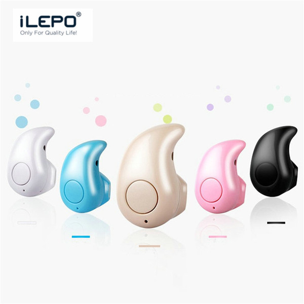top popular Mini S530 Bluetooth Wireless Headphone For Driver Business Single Earphone Portable In-ear Earbud Cell Phone Earset With Retail Box 2019