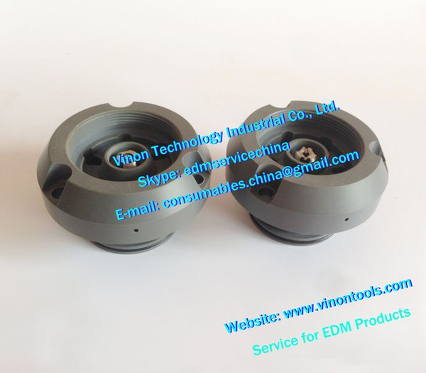 (2pcs) edm Injection Chamber Set 432.970+432.969 upper&lower for ROBOFIL 190,290,390 wire cut machines 432.969,432.970.0,104329700,104329690