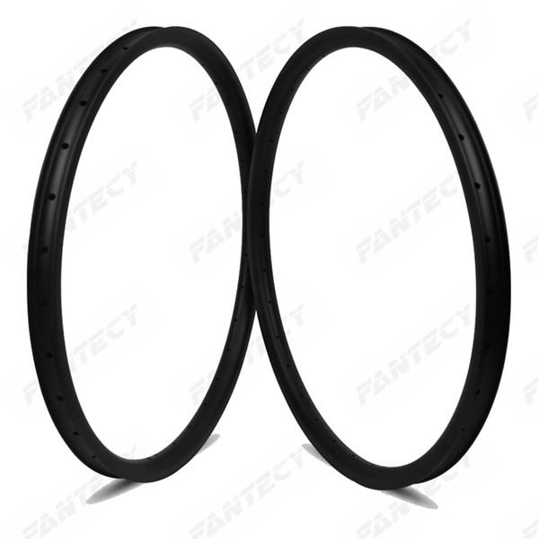 Free shipping full carbon MTB DH rims 29er mountain bicycle carbon rim tubeless 35mm width 25mm depth