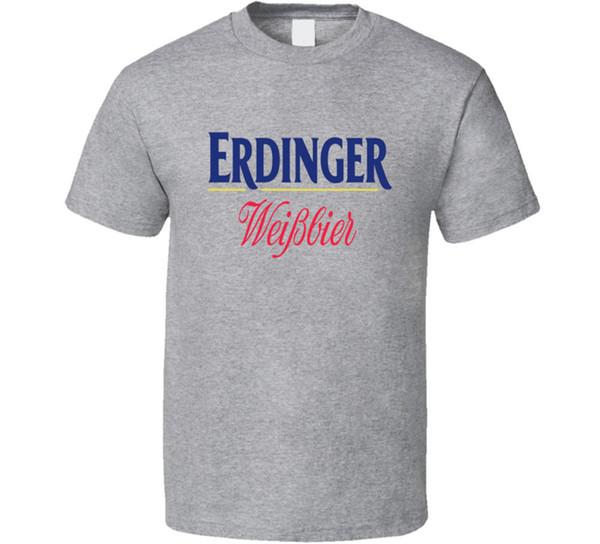 Erdinger Cerveja Alemã Alemanha T Shirt dos homens Tee Muitas Cores Presente Novo Dos EUA 2018 Engraçado Tee Camisas Bonito T Homem 100% algodão
