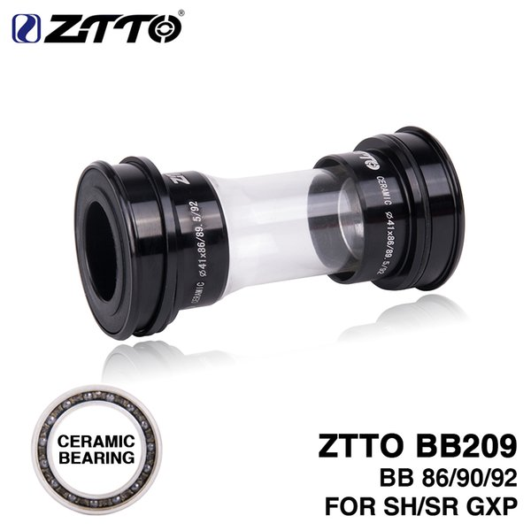 HITO ZTTO CERAMIC BB209 BB92 BB90 BB86 Press Fit Bottom consoles for Road mountain bike Parts 24mm Crankset BB GXP 22mm crankset