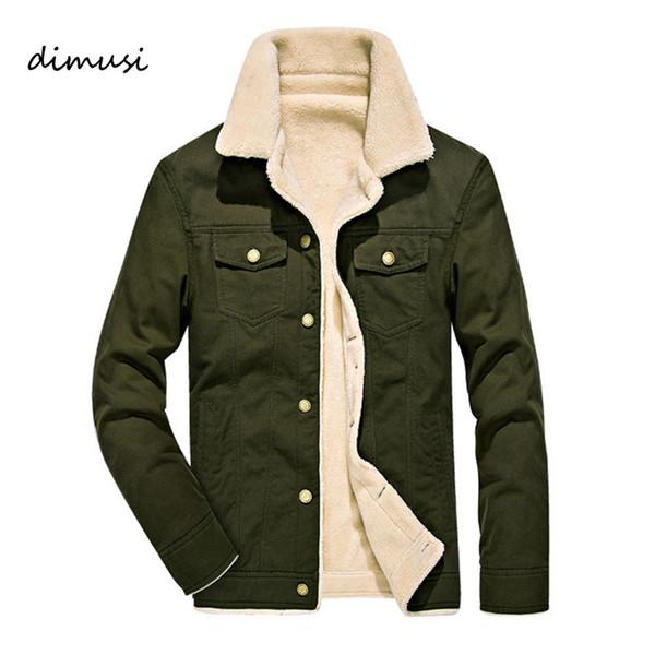DIMUSI Winter Bomber Jacket Men Pilot MA1 Chaqueta Cuello de piel masculina caliente Army tactical Mens y Abrigos 4XL