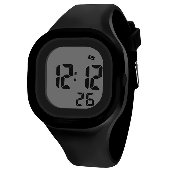 SB0041 Colorful Silicone LED Light Led Digital Sport Outdoor WristWatch Student Kid Women Girl Boy Gift Relogio Rolojes L30