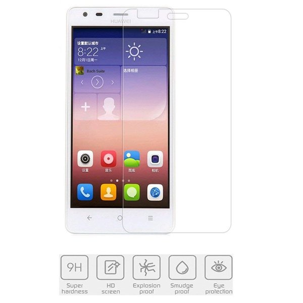 For Huawei Ascend G628/G629 Screen Protector HD Clear,easy clean,Anti-Scratch 2.5D 9H Tempered Glass Flim for Huawei 8815/G610