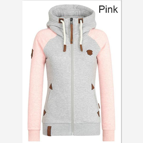 2018 neue Frauen Herbst Winter Solide Jacke Damen Warme Mantel Weibliche Winddicht Polar Fleece Grundlegende Jacke Plus Größe M-5XL Kleidung