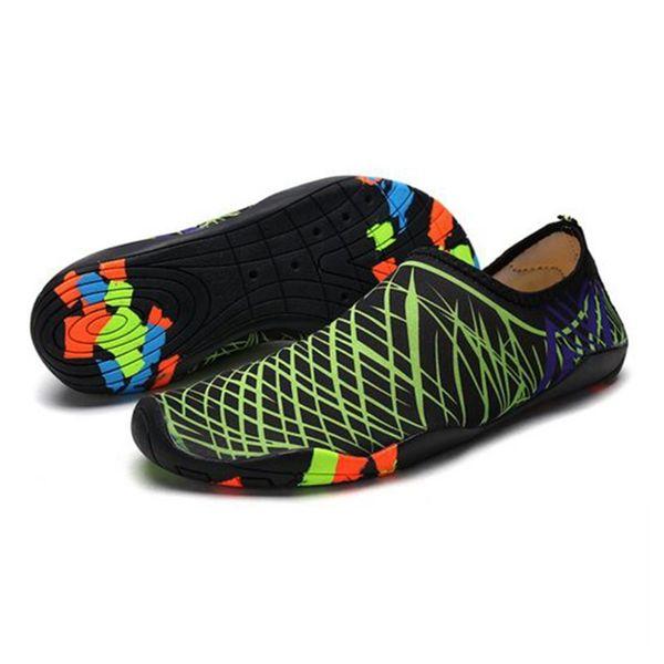 Wassersport Socken Schuhe Slip Unterschied On Mesh Aqua Kinder Schwimmen Tauchen Strand Erwachsene Großhandel Haut Barfuß Rutschfeste Stile WdCerBox