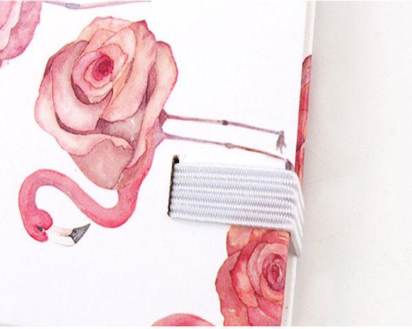 Winzige Flamingo Cintas A5 A6 A7 NotLine Página Interna Agenda Anotações Agenda Papelaria Escolar Chancelaria