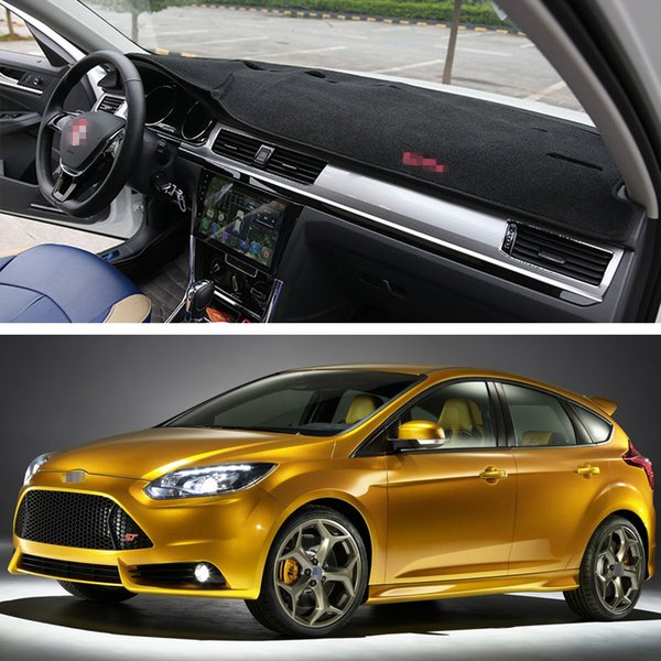 New Car Dashboard Dash Mat Sun Visor Cover Pad Inner Fit For Ford Focus St 2010 2014 11 12 13 Cars Windshield Shade Cars Windshield Sun Shade From