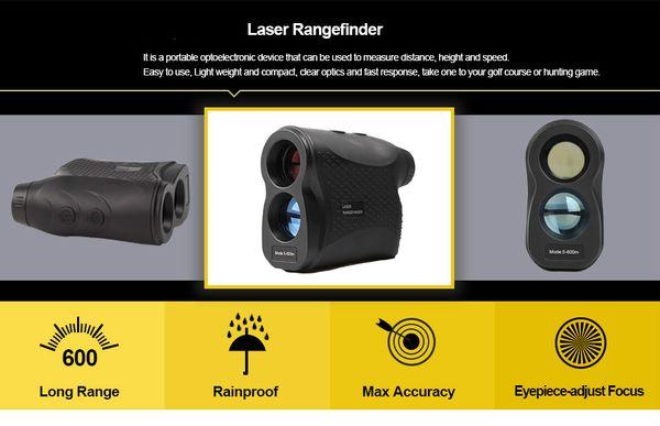 Entfernungsmesser Golf Laser Rangefinder Für Jagd Weiss 600 Meter : Visionking laser entfernungsmesser jagd golf m distance