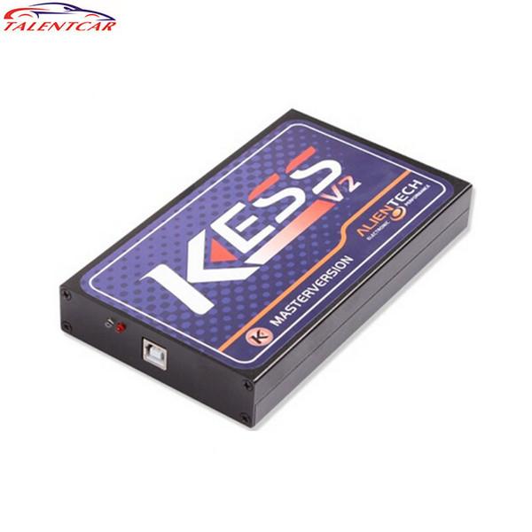 2014 Miglior Prezzo Più Nuovo Limitazione Token KESS V2 OBD2 Manager Ecu Tuning Kit Programmatore Chiave di Alta Qualità Spedizione Gratuita