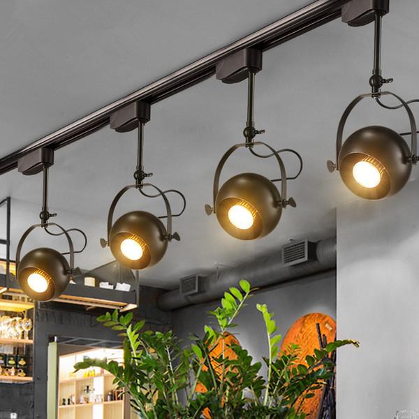 Moderna De Luz Interior Iluminación Ventanas LED Focos Rotativos Showrooms De Iluminación De Riel De Riel De Riel Compre Accesorios De Lámpara Techo b6yf7g